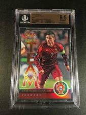 CRISTIANO RONALDO 2015 PANINI SELECT ULTIMATE TEAM RED REFRACTOR /199 BGS 9.5