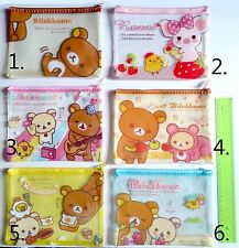 New 1 Rilakkuma huge case purse cosmetic cute San-X kawaii worldwide from eu