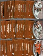 10 ct Lot -2015 Panini Texas Collegiate Collection Complete 80 Card Sets (800)