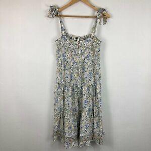 Jaase Womens Dress Size S Multicoloured Floral Sleeveless Square Neck Boho