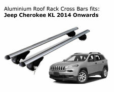 Aluminium Roof Rack Cross Bars fits JEEP CHEROKEE KL with roof rails 2014 +