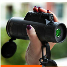 40X60 Portable HD OPTICS BAK4 Night Vision Monocular Telescope Super High Power