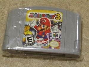 Mario Party 3 Brand New Excellent Condition - Please Read Description!
