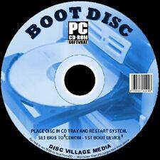 DISCO di avvio facile riparazione / Soccorso / prova tutti i sistemi Windows tutti i PC / NOTEBOOK 2 DISC SET