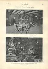 1903 Mr Frank Curzon In Control New York Yacht Club Dining Room