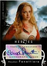 NBC HEROES HAYDEN PANETTIERE CLAIRE AUTOGRAPH AUTO CARD