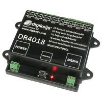 Digikeijs DR4018 16-Kanal Schaltdecoder H0 digital Z21 Modellbahn Piko TT  Roco