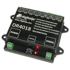 Digikeijs™ DR4018 16-Kanal Schaltdecoder H0 digital Z21™ Modellbahn Roco™ Weiche