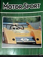 Jacky pela Alemán GP 1972 Ferrari 312B2 Nordschleife McLaren M20 Cubierta F1