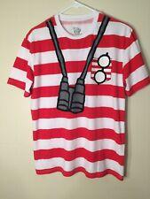 Where's Waldo? Striped Costume T-Shirt Medium