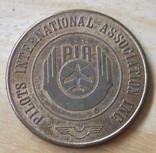 1971 Pilots International Association (PIA) Good Luck Good Flying MEDAL