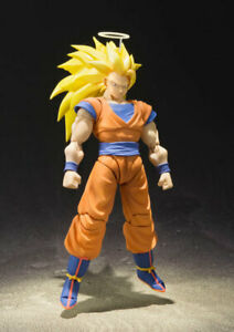 Bandai S.H.Figuarts DRAGON BALL Z Super Saiyan 3 SS3 Son Goku Figure Gokou SH
