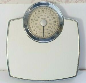 Salter Mechanical Bathroom Scales - Analogue Personal Weight Scale - Vintage