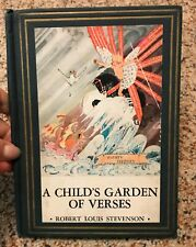 Stevenson - A Child's Garden of Verses - 1930 - Illustrations by McCracken and S