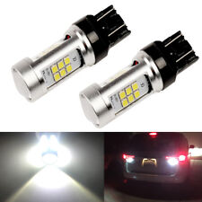 2000LM 6000K White High Power 7440 7443 W21W LED Reverse Backup Light Bulbs