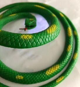 "Snake Toy Props Joke Scary Gag Kid Child Halloween 39"" Realistic Rubber Lifelike"