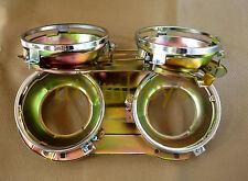 X2 DATSUN 620 PICKUP TRUCK HEADLIGHT SURROUND BUCKET RIM LAMP LIGHT LEFT RIGHT