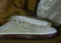 5.00 Ct Round Cut VVS2 Diamond Tennis Ladies Bracelet 14k Yellow Gold Finish