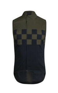 Rapha Cycling Check Classic Vest Gilet Size Medium Packable Windproof