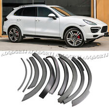 For Porsche Cayenne 2011-2014 Fender Wheel Eyebrow Protector Wheel Arch Strips