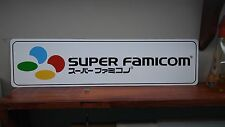 "SUPER FAMICOM Logo Aluminum sign  6"" x 24"""