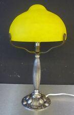 SCHNEIDER - GRANDE LAMPE ART NOUVEAU - PATE DE VERRE-BRONZE art deco-daum-gallé