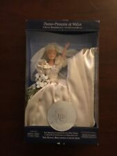 Diana Princess Of Wales A Royal  Rememberance Doll- Bride 2 1/2 Long
