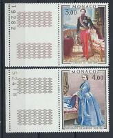 Monaco N°1196/97** (MNH) 1979 - Prince et princesse de Monaco