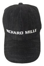 "RICHARD MILLE Black ""DENIM"" Jeans Cap Hat Rafael Nadal Formula 1 NEW RM10 RM11"