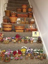 Longaberger Evertyhing That Was Ever Made For The Grandma Bonnie'S May Flower