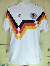 GERMANY WORLD CUP 1990 VTG ADIDAS OG HOME FOOTBALL TRIKOT SOCCER JERSEY SHIRT M