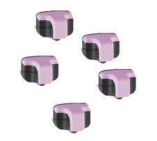 5 x HP02 Light Magenta for HP Printers Photosmart C6250 C6280 C7150 C7180