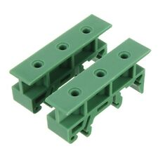 5 pieces PCB Din Rail Adapter Circuit Board Mounting Bracket Holder Carrier 35mm