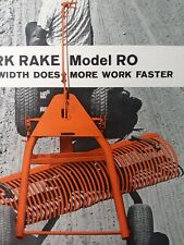 York Rake Rs Rm Ro Lawn Garden Tractor Implement Sales Brochure Advertising