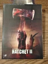 ADAM GREEN'S HATCHET II BLU RAY/DVD COMBO  MEDIABOOK NEW RARE LIMITED 333 CVR. B