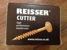 JOBLOT Reisser Cutter 6.0 X 40mm Wood Screws QTY 1000 .