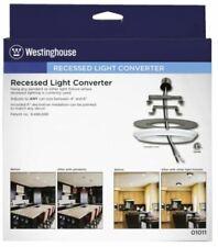 2 Westinghouse Recessed Can Light Converter Kits for Pendant Light 01001 NIB