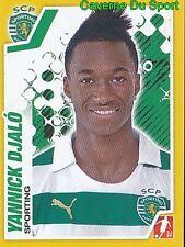 254 YANNICK DJALO PORTUGAL SPORTING.CP TOULOUSE.FC STICKER FUTEBOL 2012 PANINI
