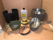 Swedish Army Mess Kit Stainless Steel Surplus