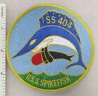US NAVY USS SPIKEFISH SS-404 SUBMARINE PATCH (Yellow Edge) Post WW2 Made