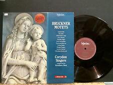 CROYDON SINGERS  Bruckner Motets    LP   Direct Metal Mastering Vinyl  NEAR MINT