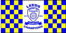 Leeds United Promoted Champions Flag We're Going Up