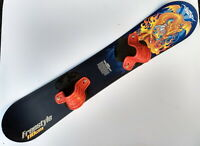 Riva Snowboard Dragon Image 110 cm Kid's Up to 130 Pounds Freestyle 42 Inches