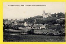 cpa de 1916 OULCHY le CHÂTEAU Aisne La MARNIÈRE Cachet 92ème R.A.P. à BEUGNEUX
