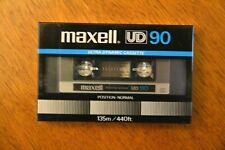 Maxell * UD 90 * IEC TYPE I * Normal * Blank Audio Cassette Tape New Sealed