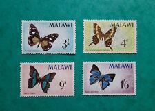 Stamp MALAWI 1966. SG#247/250. Butterflies. MNH OG*** VF. #OA53