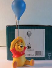 DISNEY WDCC WINNIE THE POOH BALLOON UP TO THE HONEY TREE CERTIFICATE WITH BOX