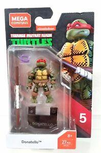 new Mega Construx Heroes series 5 Donatello figure TMNT Ninja Turtles GFL16
