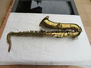 Saxophone Ténor CONN ancien