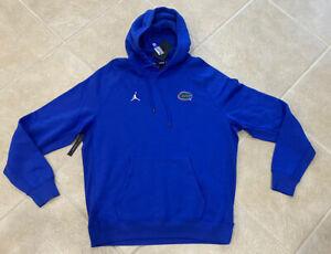 Jordan Nike Florida Gators Pullover Blue Hoodie Sweatshirt CD6790 419 Men XL $85